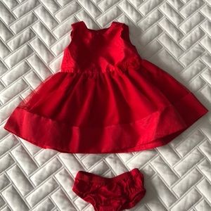 Baby Dress w/diaper cover